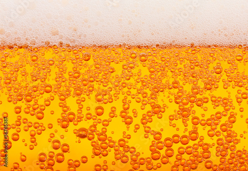 canvas print picture Beer texture, seamless