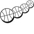 Basketball Pattern Design
