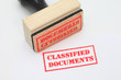 Classified Documents Stamp