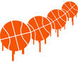 Basketball Graffiti Pattern Design