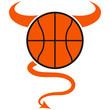 Basketball Devil Logo Design