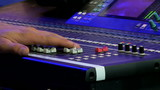 Stage audio control panel
