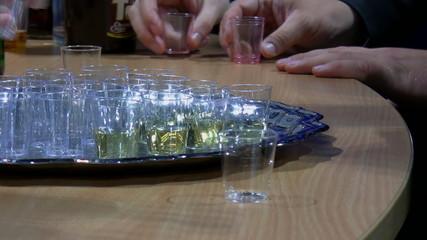 Drink presentation and sampling
