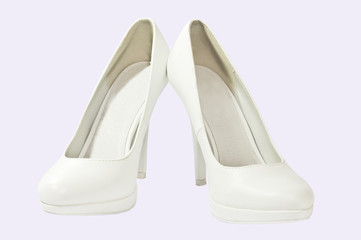 Women's white shoes