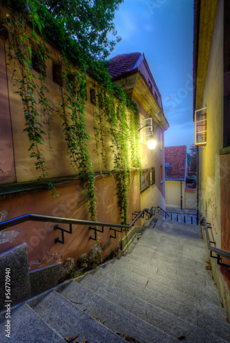 Lane in old Warsaw © 4th Life Photography