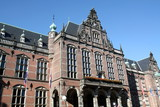 University building from 1614 in the city of Groningen