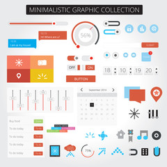 Minimalistic web graphics