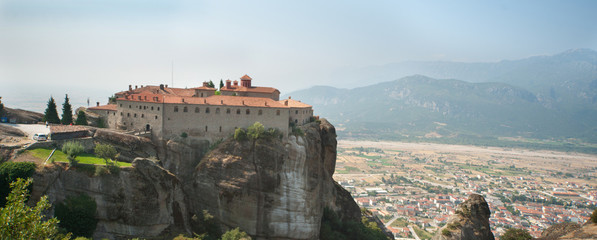 Female monastery in Greece