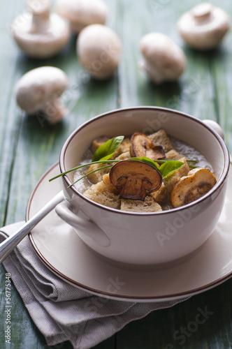 Mushroom pottage