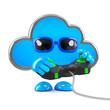 Cloud plays videogames online