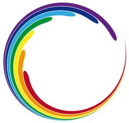 Esoterik - Farbkreis Chakrafarben