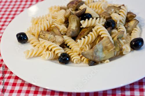 pasta e carciofi
