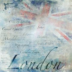 Fond grunge Londres