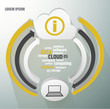 Cloud infographics