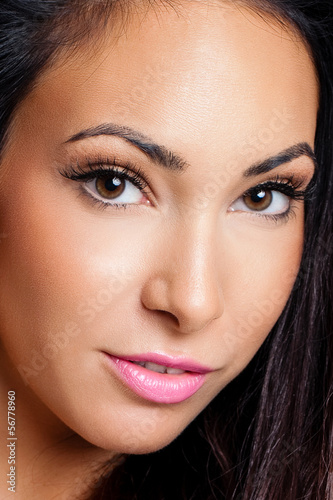 Fototapeten,close-up,auge,mund,gesicht