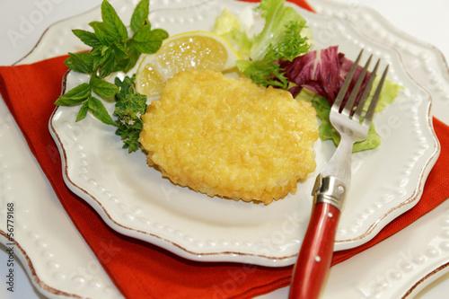pané au fromage
