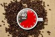 40 min Kaffee-Pause