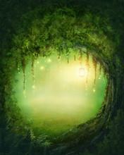 "Постер, картина, фотообои ""Enchanted forest"""