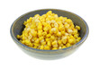 Gold White Corn Kernels Side View
