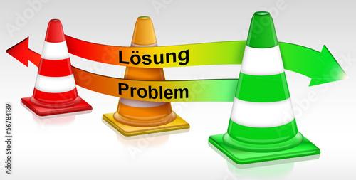Pylone, Problem - Lösungsweg - Wegweiser