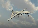 Drone militar poster