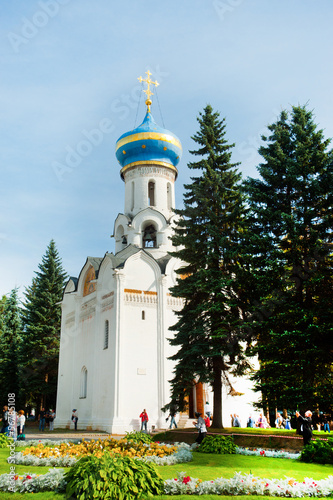 the main church of the Holy Trinity-St Sergius Lavra