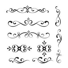 Decorative elements and ornaments