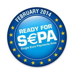 s€pa, ready for sepa, logo button