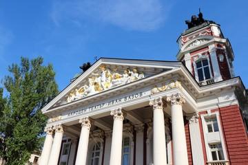 Bulgarian culture - Ivan Vazov theater in Sofia