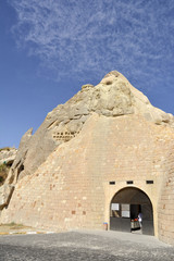 Entrance of Tokali Church (Church of The Buckle) Goreme, Turkey