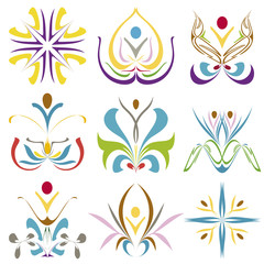Spa and Health symbols for Corporate Design