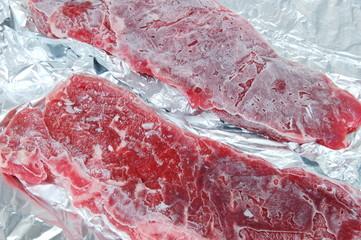 Carne congelada