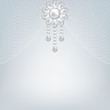 pearl jewerly and lace background