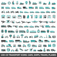 100 AND 20 Transport icon