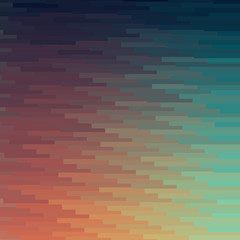 colorful mosaic banner background
