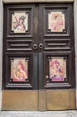 graffiti porta