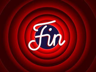 """""""FIN"""" (message à suivre conclusion présentation générique merci)"""