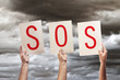 SOS message