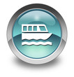 "Light Blue Glossy Pictogram ""Boat Tour"""