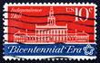 Postage stamp USA 1974 Independence Hall