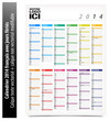 Calendrier 2014 personnalisable