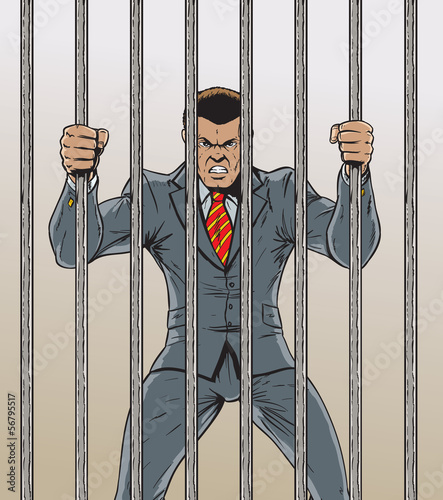 Business man Prisoner