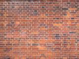 Muro in mattoni rossi