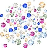 Multicolored rhinestones poster