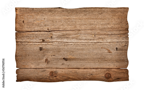 Foto op Canvas Hout wooden sign background message