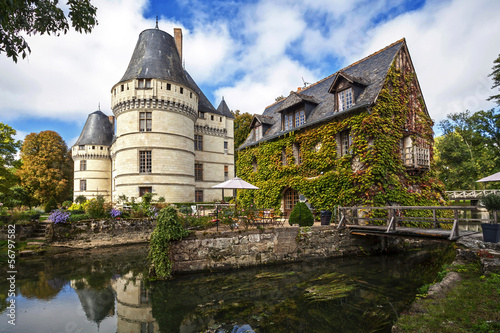 Chateau de L'Islette. France. Chateau of the Loire Valley.