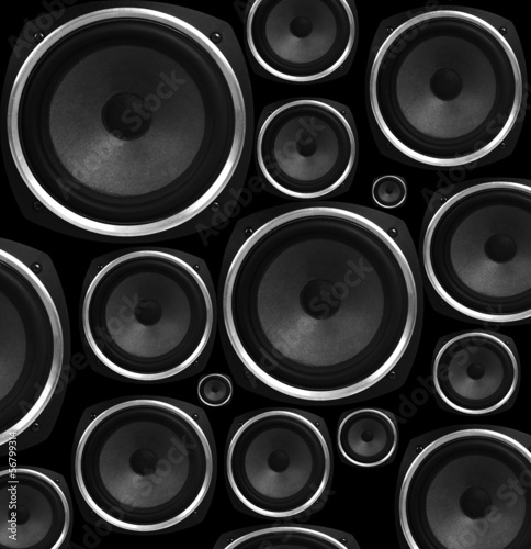 Speakers abstract background