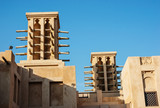 Wind towers - the traditional Arabic architecture