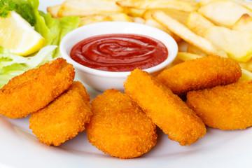 Chicken Nuggets - Hähnchenbrustfilets