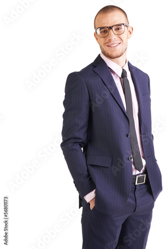 Elegant businessman